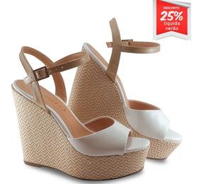 12dc9723b Sandalia Branca Via Uno - Calçados, Roupas e Bolsas com o Melhores Preços  no Mercado Livre Brasil