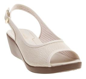 466fb392d Tamanco Anabela Azaleia Feminino - Sapatos com o Melhores Preços no Mercado  Livre Brasil