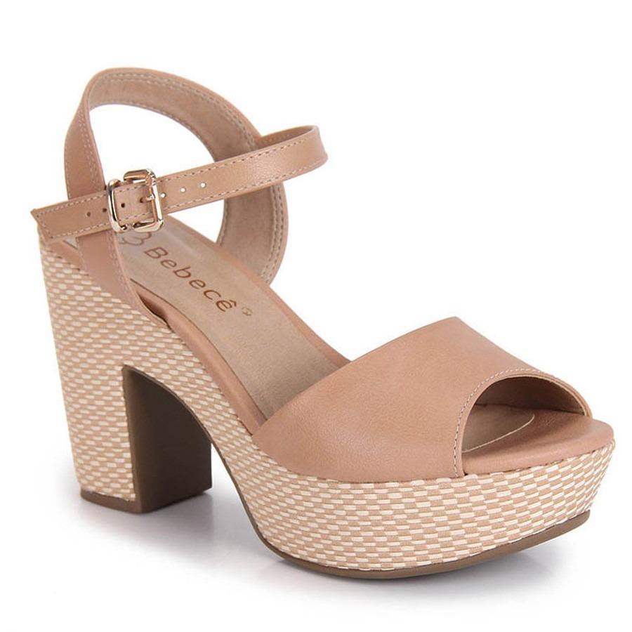 f29e7c624 sandália feminina bebecê meia pata bege. Carregando zoom.