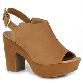 a667e68bb5 Lindo Sapato Open Up Femininos Sandalias Salto - Sapatos no Mercado Livre  Brasil
