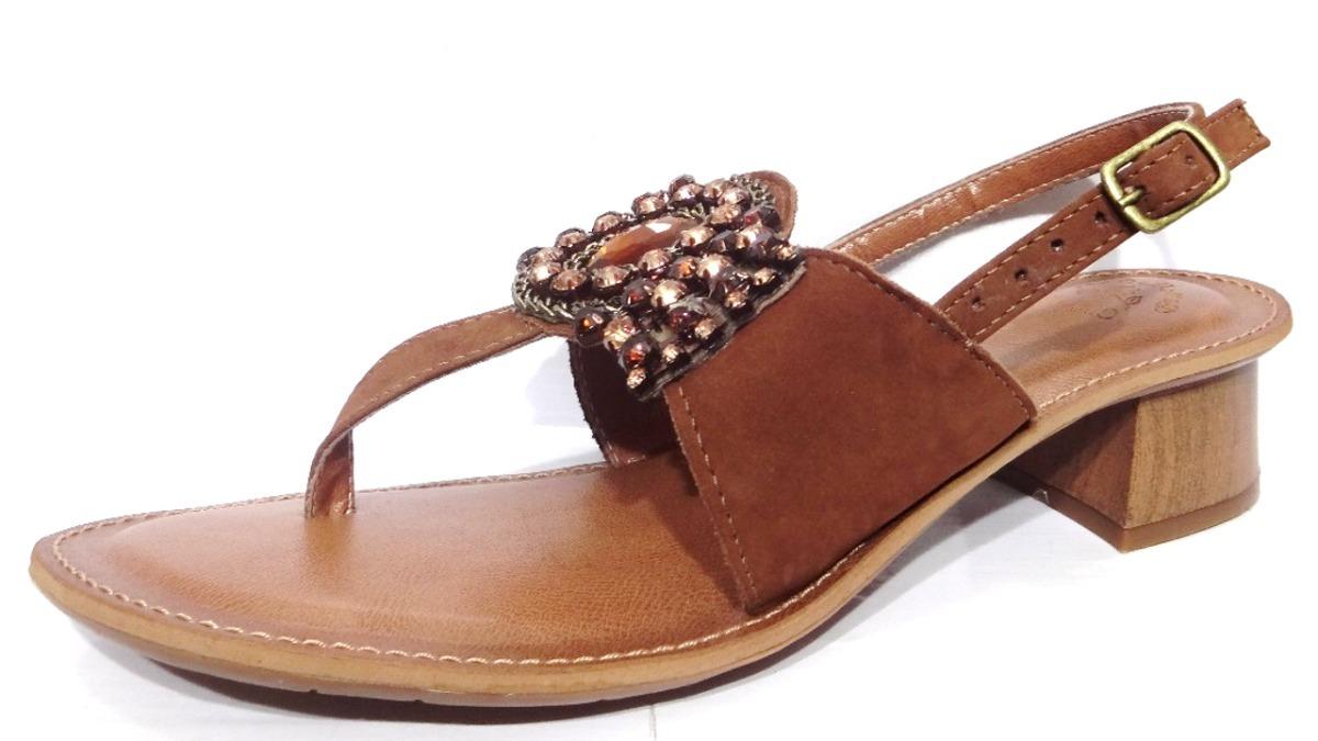 7aeaa9bce sandália feminina bem me quer detalhe pedraria marrom 006485. Carregando  zoom.