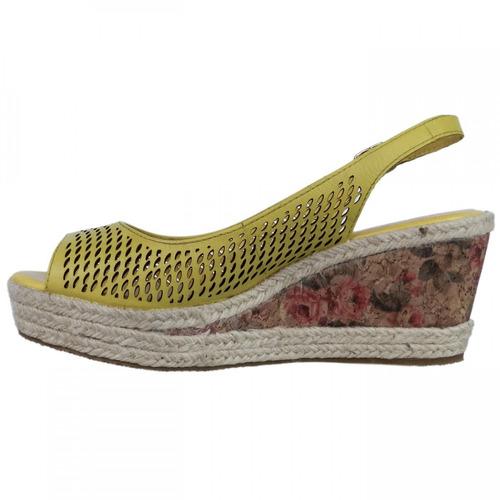 sandália feminina bottero botluana anabela espadrille