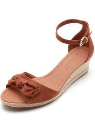 7dce2059fa Sandalia Nobuck Lacos - Sapatos no Mercado Livre Brasil