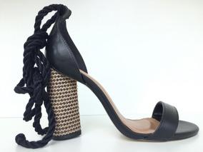 eeba8f8a4c Sandália Gladiadora Salto Alto Di Cristalli Clovis Calçado - Sapatos ...