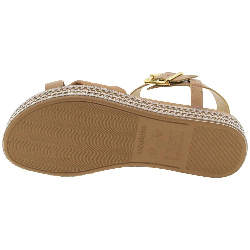 20193d36f sandália feminina flatform capuccino azaleia - 397/193. Carregando zoom.