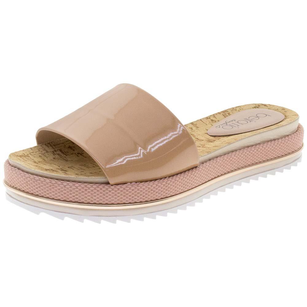 3251a1a69d sandália feminina flatform nude beira rio - 8354400. Carregando zoom.
