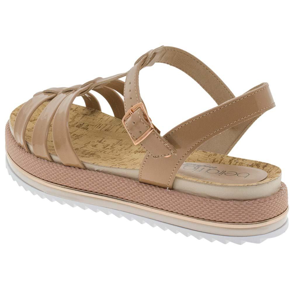 3608d8a67e sandália feminina flatform nude beira rio - 8354409. Carregando zoom.