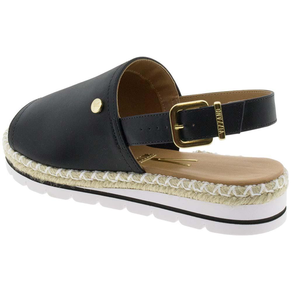 3995aa02e sandália feminina flatform preto vizzano - 6388100. Carregando zoom.