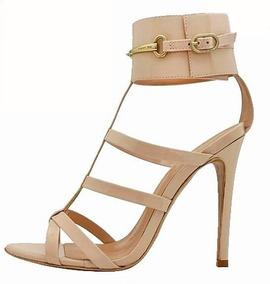 67c118c1c7 Sapato Salto Alto Com Tornozeleira Feminino - Sapatos no Mercado Livre  Brasil