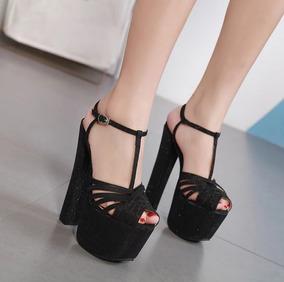 795a05a57 Sandalias Importadas Peep Toe - Calçados, Roupas e Bolsas no Mercado ...