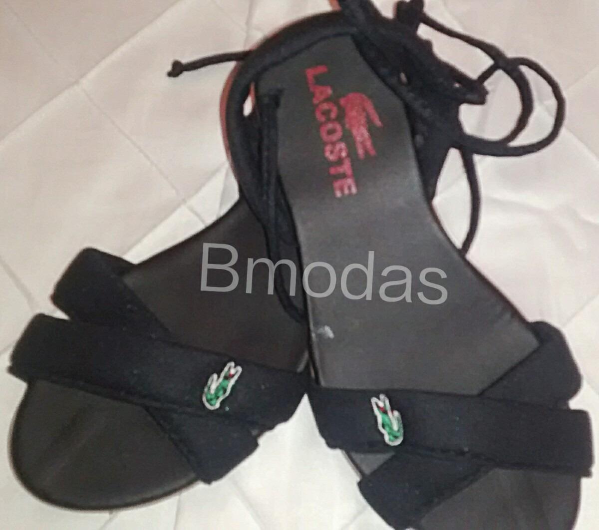 30acbab436f Sandalia Feminina Lacoste - Frete Grátis - Envio Imediato - R  75