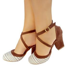 7d7ed3a0b2 Sapatos Femininos Casamento Civil Salto Baixo Feminino - Sapatos no Mercado  Livre Brasil