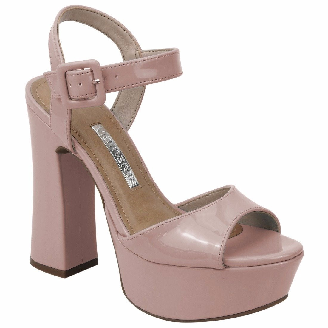0610ebda5d sandália feminina meia pata cor pele nude via marte 17-11204. Carregando  zoom.