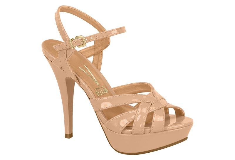 cb084ee36 sandália feminina meia pata salto fino vizzano 6230359. Carregando zoom.