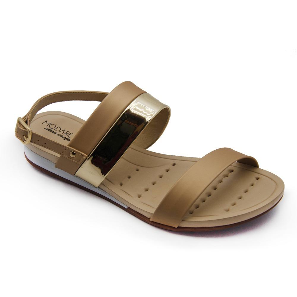 52566a35bf sandália feminina modare 7113.103 anabela ultra conforto. Carregando zoom.