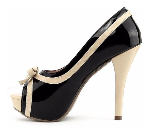 sandalia feminina peep toe loucas por salto alto exclusiva