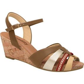 f53d596010 Sandalia Kick Silver Feminino Peep Toe Piccadilly - Calçados