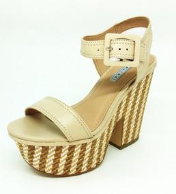 fdd0f41d1d Sandália Plataforma Da Lia Line - Sapatos no Mercado Livre Brasil