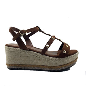 4aa9232caae Sandalia Plataforma Renata Mello 304.10158 Dourada - Sapatos no ...