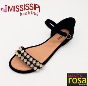 4dcb8536b Mississipi Dakota Sandalia Meia Pata Rasteiras - Sapatos no Mercado Livre  Brasil
