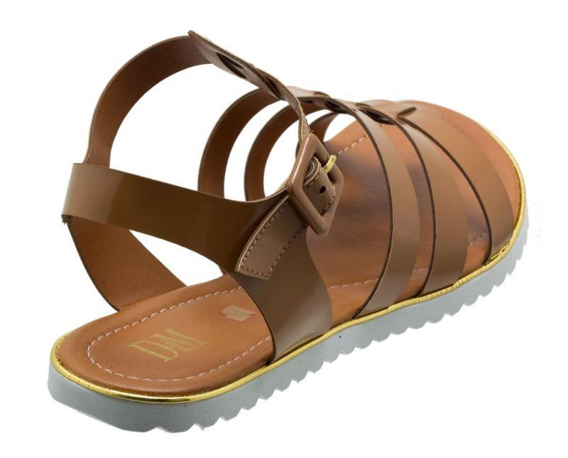 c2ba6973a sandália feminina rasteira numeração grande dm extra vern. Carregando zoom.