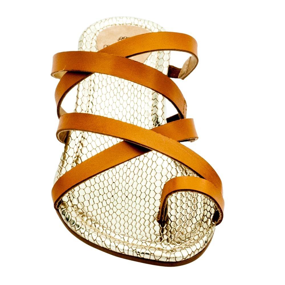 a4b60604a4 sandália feminina rasteira ra0547 my shoes. Carregando zoom.