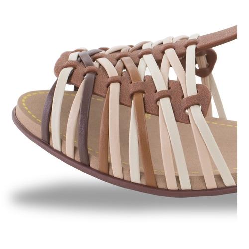 sandália feminina rasteira rasteirinha adulto e infantil 640