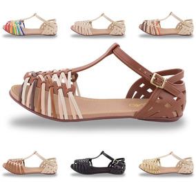 3c68d73658 Sandálias Renee Shoes - Sapatos Nude no Mercado Livre Brasil