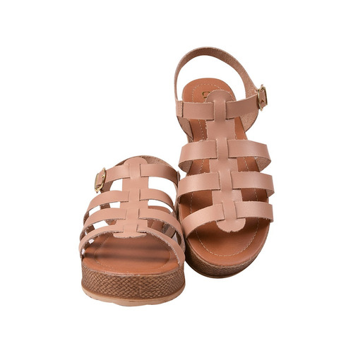 sandalia feminina rasteira rasteirinha tratorada anabela edg