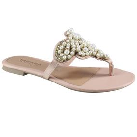 99d1cce89 Sandalia Rasteira Tanara - Sapatos com o Melhores Preços no Mercado Livre  Brasil