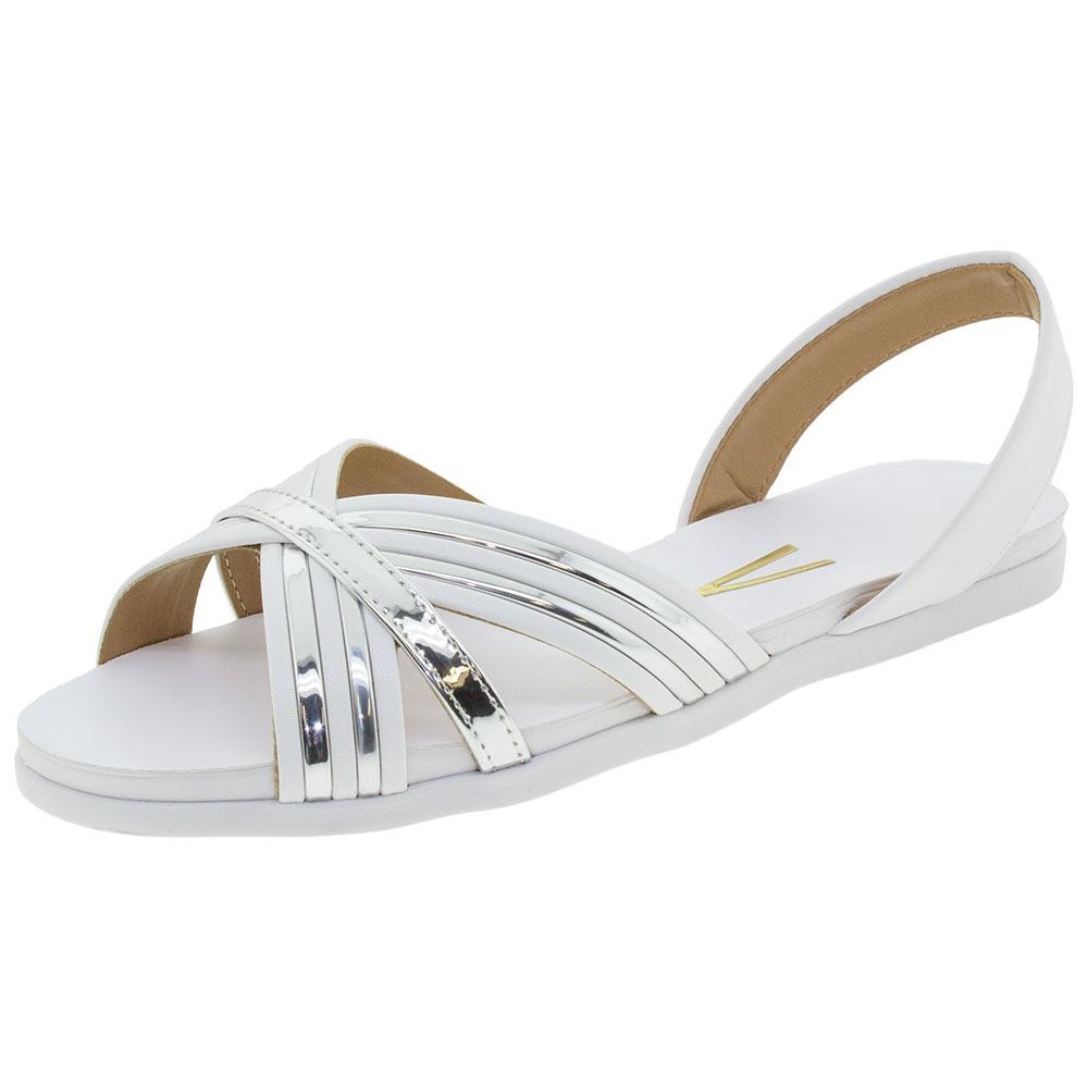 f37581170 sandália feminina rasteira vizzano - 6352115 branco. Carregando zoom.