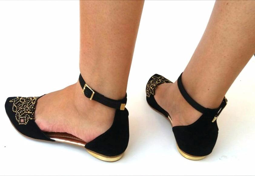 sandália feminina rasteirinha sapato sapatilha linda barata. Carregando zoom . e1ef5a08872fc