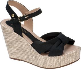 724df2cdb Sandalia Anabela - Sapatos para Feminino no Mercado Livre Brasil
