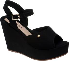 1295af9fc Sandalia Plataforma Dafiti - Sapatos com o Melhores Preços no Mercado Livre  Brasil