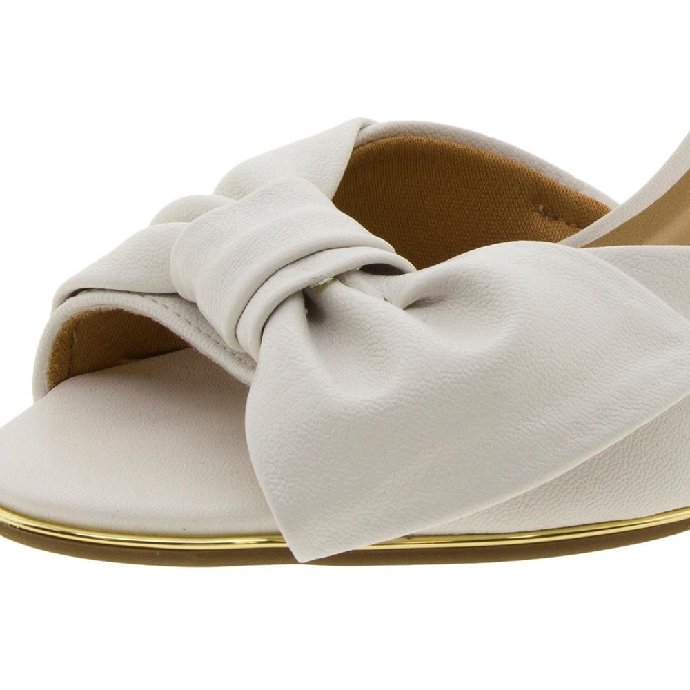 87ccfe34b6 sandália feminina salto alto branca vizzano - 6347106. Carregando zoom.