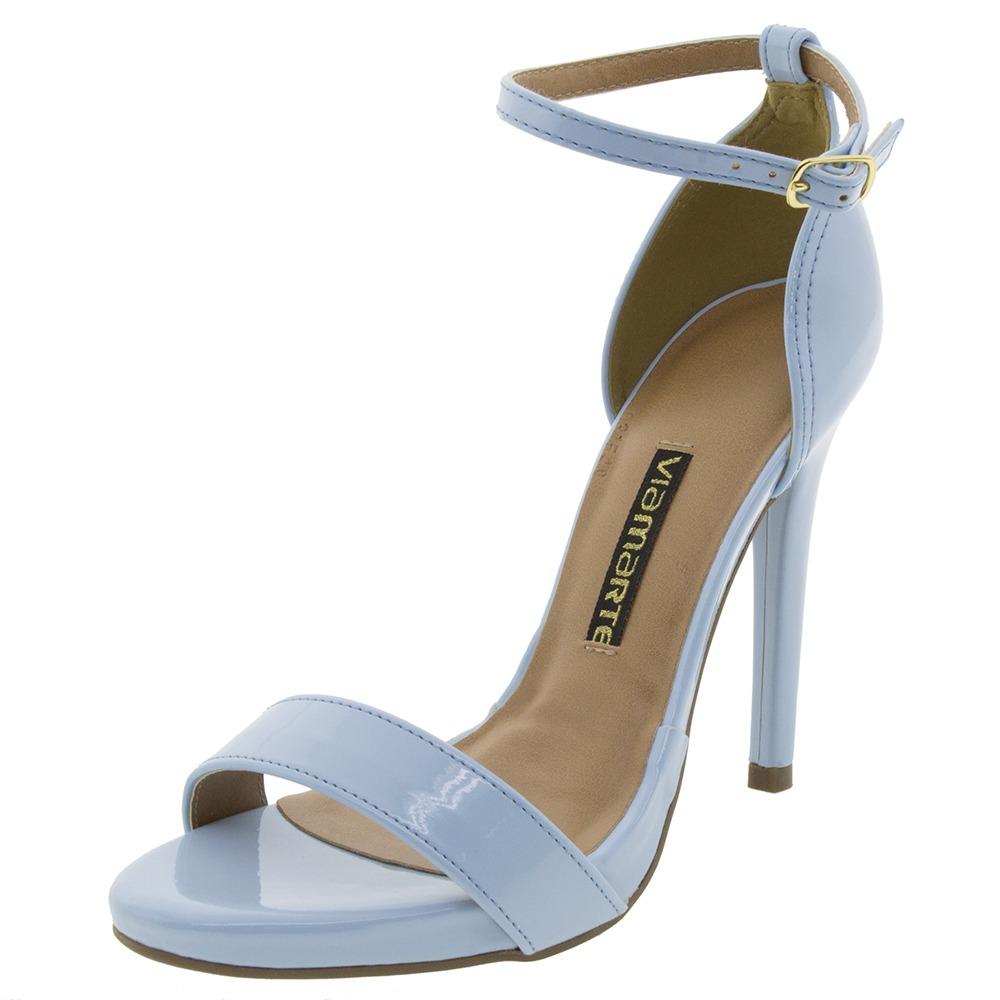 6d9b794321 sandália feminina salto alto celeste via marte - 1518207. Carregando zoom.