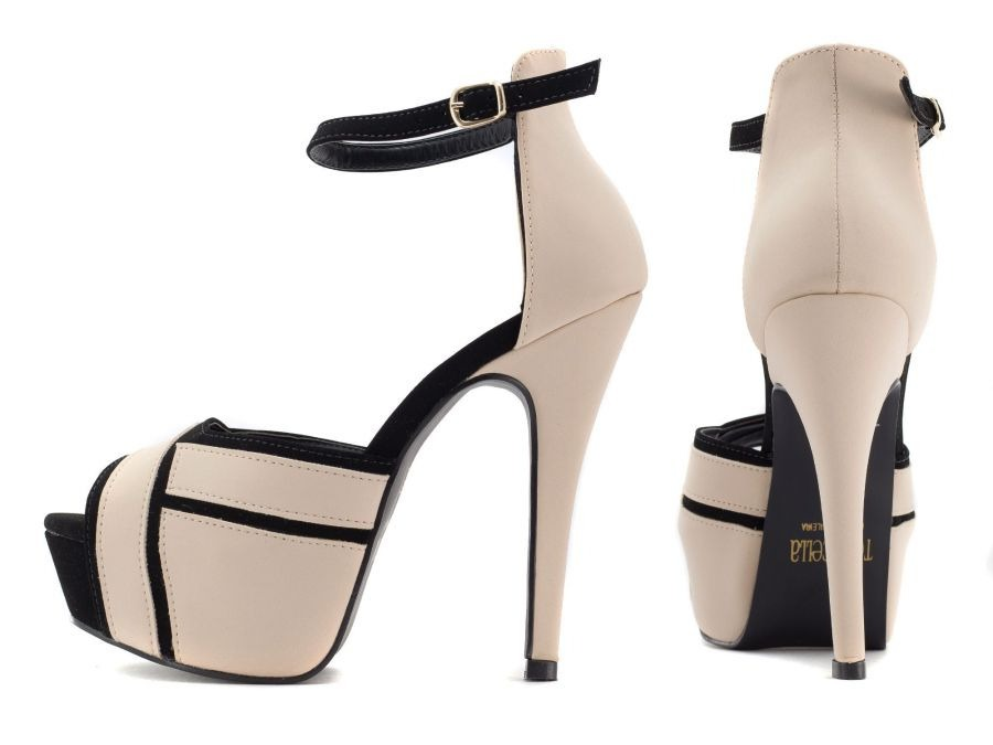 52ebf5a882 sandália feminina salto alto confortável casual noiva festa. Carregando zoom .