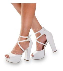 c058287d9 Bota Meia Pata Salto Grosso Via Marte - Sapatos com o Melhores ...