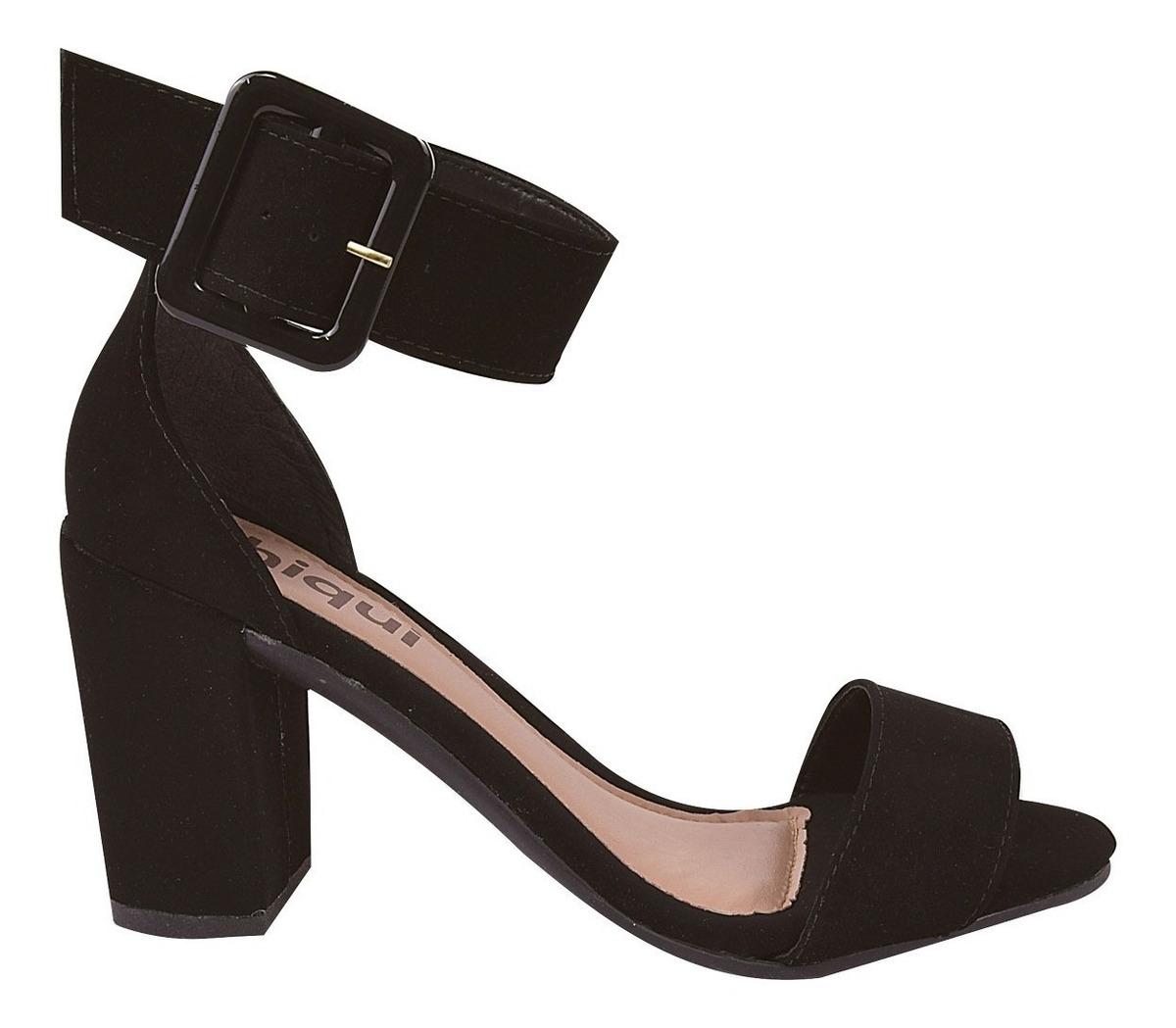 3113730a6 sandalia feminina salto alto grosso moda 2019 festa yrt2. Carregando zoom.