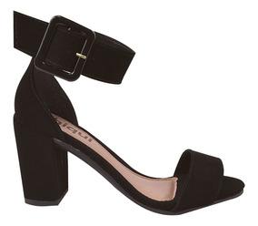 acacd9eb5 Sandalia C Salto Festa Champagne Feminino Sandalias - Sapatos com o ...