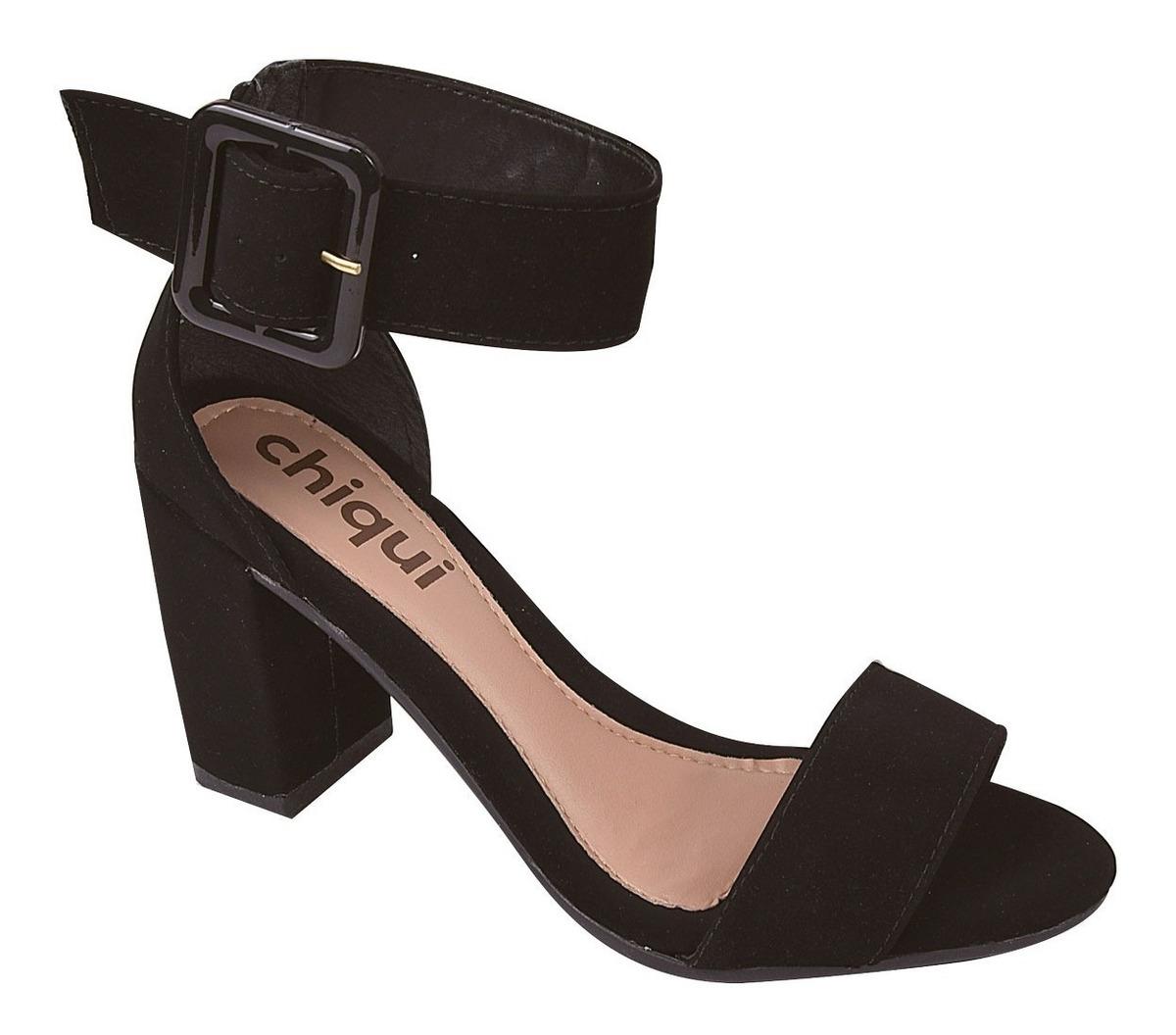 ecbbbc5b7 sandalia feminina salto alto grosso moda 2019 festa yrt2. Carregando zoom.