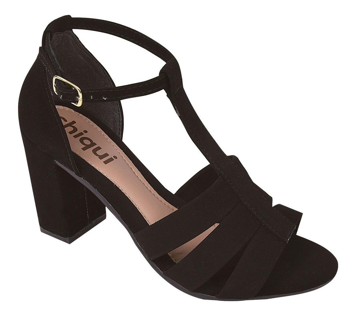 2bcf6df40 sandalia feminina salto alto grosso moda 2019 festa yrt21. Carregando zoom.