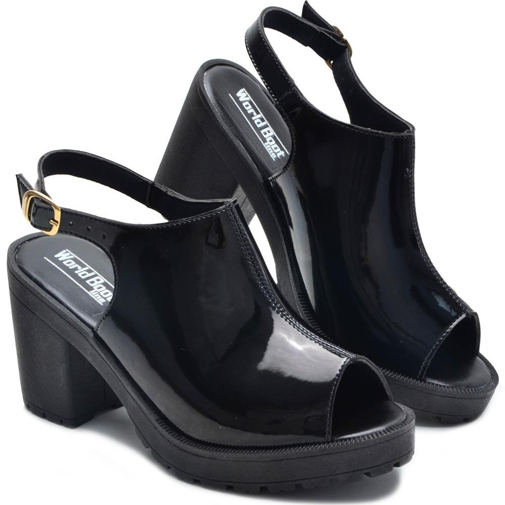52062b1ea sandalia feminina salto alto luxo botinha casual promoçao. Carregando zoom.