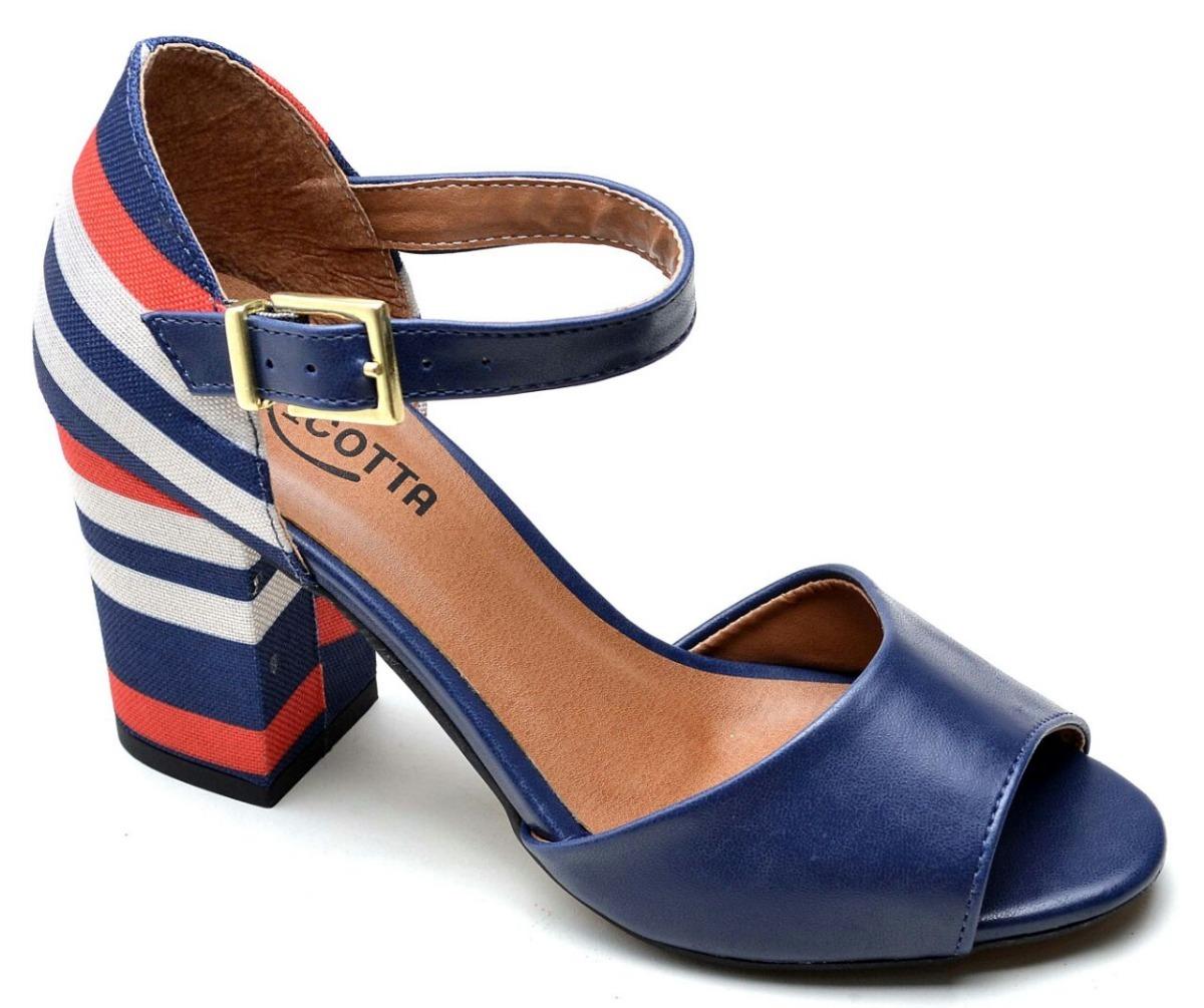 4802484b0 sandalia feminina salto alto luxo botinha casual social. Carregando zoom.