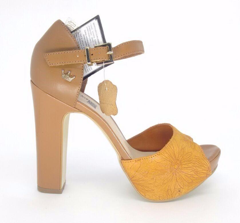 cd8860b71e sandália feminina salto alto meia pata couro bottero 258001. Carregando  zoom.