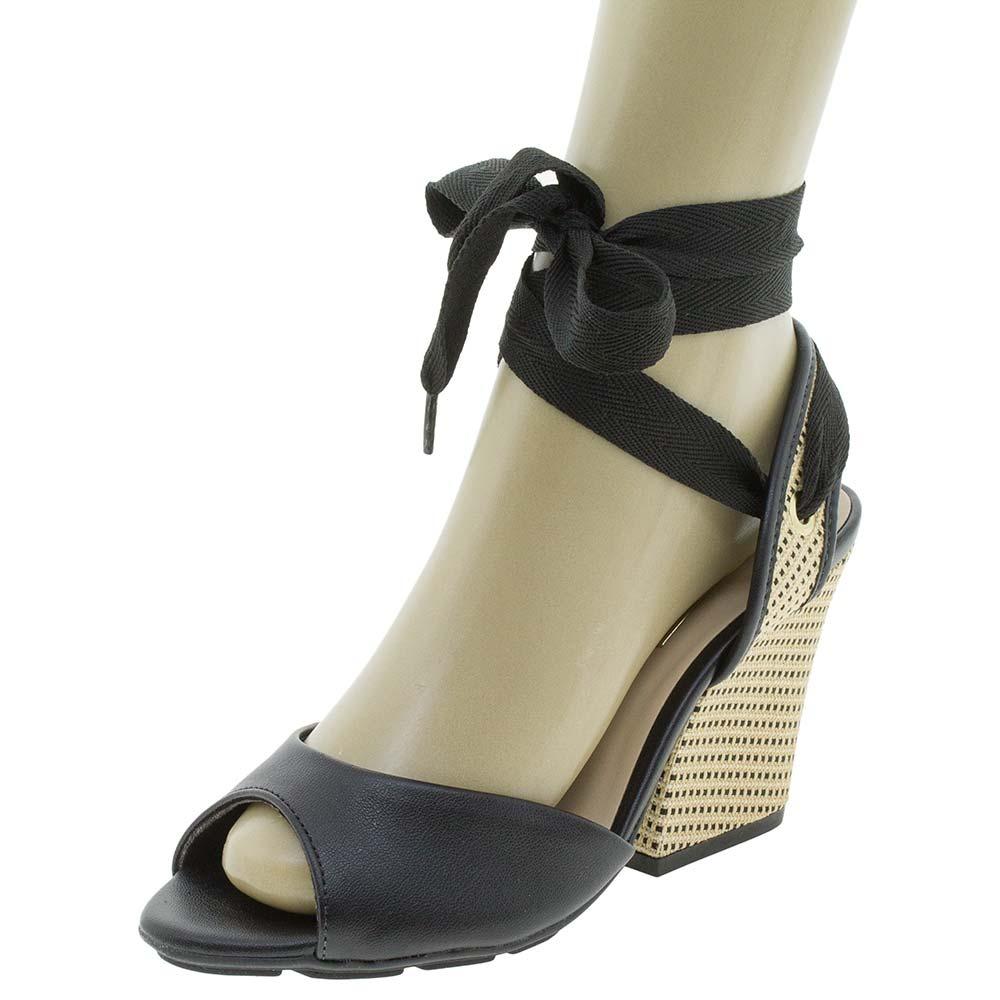 a228f7598b sandália feminina salto alto moleca - 5222555 preto. Carregando zoom.