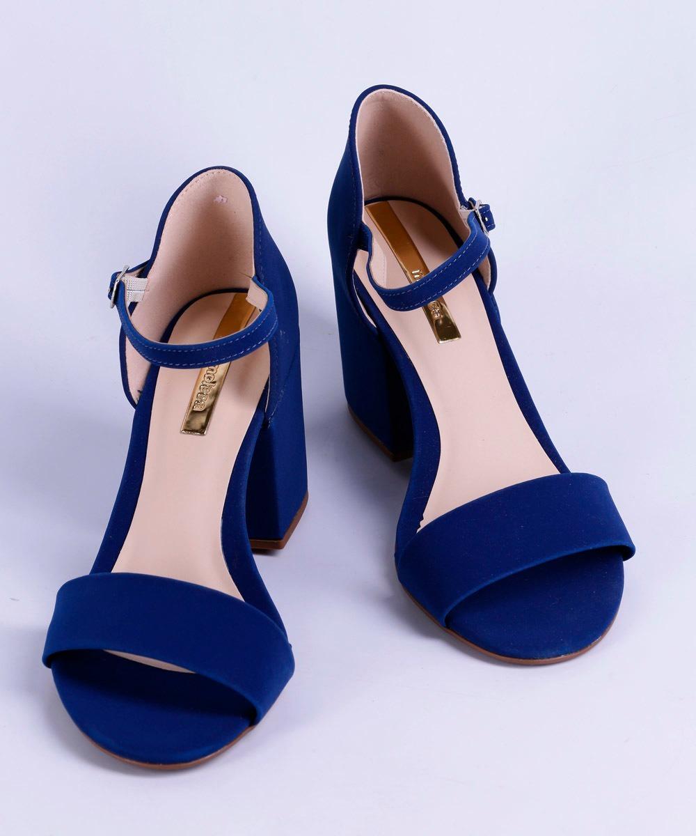 87db9426ba sandália feminina salto alto moleca - original. Carregando zoom.