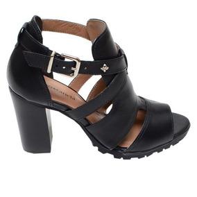 c7330f8ca9 Sandalia De Salto Fita Amarrada Na Canela Feminino - Calçados ...