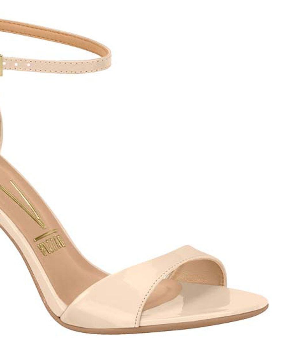3c4c439e04 sandália feminina salto alto verniz vizzano - super barato! Carregando zoom.