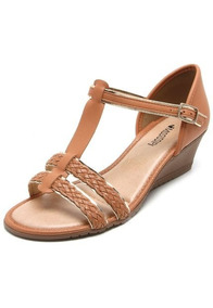 b5193ee107 Sandalia Mississipi Salto Bloco Feminino Sandalias - Sapatos Marrom com o  Melhores Preços no Mercado Livre Brasil